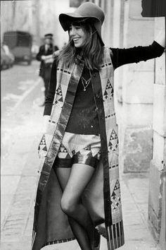 Jane Birkin, 1971.