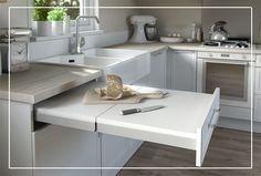Ingénieux, ce kit tiroir plan de travail Topflex offre un espace supplémentaire pour concocter de délicieux petits plats !