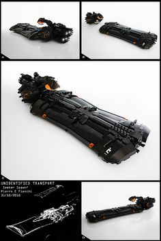 LEGO Unidentified Transport by Pierre E Fieschi