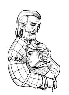 A little self-indulgent sketch of my favs.
