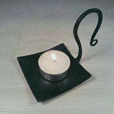 New stuff! A Stylish candle holder