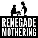 """One of the mamas in my baby group shared this blog about the hard parts of becoming a mom...I love it. It's got some rough language, so consider yourself warned, but it is so well-written and real. I wish I had written it myself.    """"I became a mother, and died to live."""" - renegade mothering"""