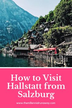 Hallstatt is a must-do for many visiting Austria, luring visitors in with it's fairy tale charm. Getting from Salzburg to Hallstatt is both simple and affordable when you travel by bus. Visit Austria, Austria Travel, Best Places To Travel, Cool Places To Visit, Austria Winter, Travel Route, Travel Tips, Travel Packing, Thailand Travel