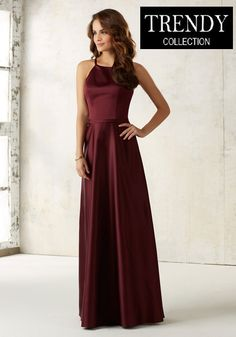 💁♀️Mori Lee 21517  😀😁😃Long V-neck Bridesmaid Dress.... All eyes are on you in this jaw-dropping design from #Mori_Lee 21517. This is a #bridesmaids #dress with an A-line #skirt with a V-neckline. ✔ Ships in 3-5 Days ✔All Color  ✔ All Size  ✔Online Payment Option.