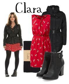 """Clara Oswald"" by companionclothes ❤ liked on Polyvore featuring moda, Vero Moda ve dELiA*s"