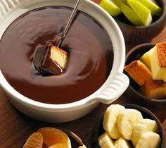 Cocinando con Varoma: Fondue de chocolate
