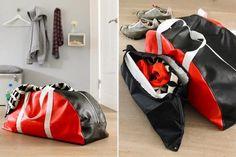 Coole Sporttasche zum Selbermachen