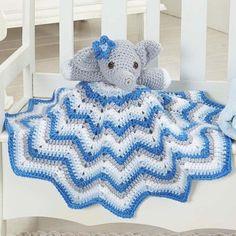 Stella Lovey Blanket - Free Pattern