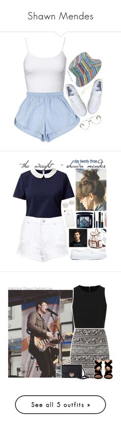 """""""Shawn Mendes"""" by marianastyles29 ❤ liked on Polyvore featuring Jane Norman, adidas, Amici Accessories, Fendi, Sydney Evan, Belle Heart, Miss Selfridge, Vans, Christian Dior and Shiseido"""