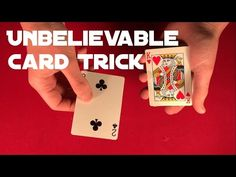 This trick is really cool and it does not require any sleight of hand!) Sounds great right?) Check out video below and learn this trick right now! Card Tricks For Beginners, Easy Card Tricks, Hand Tricks, Learn Magic, Sleight Of Hand, Cool Stuff, Learning, Check, Cards