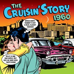 2011 The Cruisin' Story 1960 (2LP) [One Day Music DAY2CD110 / DAY2LP703]  Mike Royer style #albumcover