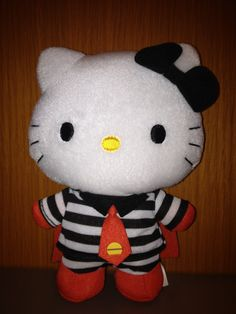 Who knew Hello Kitty was also a hamburglar?! ;) (from McDonald's Hong Kong) -- this is so cute!