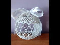 Bombka Ażurowa - YouTube Crochet Ball, Knit Crochet, Crochet Christmas Ornaments, Christmas Decorations, Crochet Stitches, Crochet Patterns, Projects To Try, Xmas, Knitting