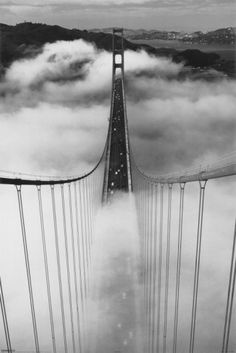 Misty Morning Poster - more bridges that I love