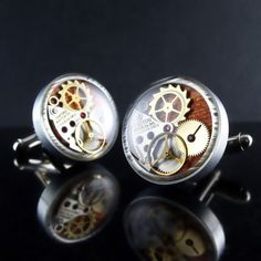 Awesome men's cufflinks I must get this for my husband