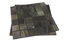 ITALG. STONE MIX ARDESIA BLACK MOS. A 30x30 (5x5)