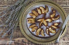 Pastel de manzana y ron