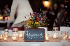 Virginia Vineyard Wedding Reception Chalkboard Sign 500x333 Ashley + Carlins Outdoor Virginia Vineyard Wedding