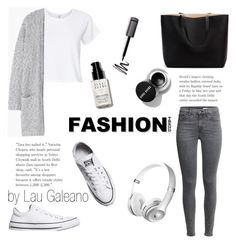 """minimal trend"" by lauvgaleano on Polyvore featuring RE/DONE, MANGO, Converse and Bobbi Brown Cosmetics"