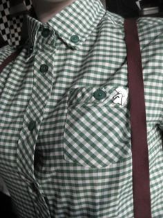 Another of my photos i've stumbled across. Shirt England belongs, braces vintage, and Trojan pin from Ebay.