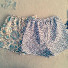 Hand-Made Patterned Shorts