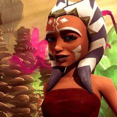 Star Wars Rebels, Star Wars Clone Wars, Girls Characters, Star Wars Characters, Asoka Tano, Star Wars Girls, Counting Stars, Star Wars Images, Rap Quotes