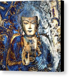 Inner Guidance Canvas Print by Christopher Beikmann.  All canvas prints are professionally printed, assembled, and shipped within 3 - 4 business days and delivered ready-to-hang on your wall. Choose from multiple print sizes, border colors, and canvas materials.