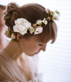 Weddings Gallery | Grandiflora grandiflora hair circlet www.grandiflora.net