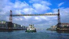 """Puente colgante Getxo"", suspension bridge at Getxo (Vizcaya, Spain) Bilbao, My Heritage, World Heritage Sites, Water Under The Bridge, Asturian, When One Door Closes, Basque Country, 4 Months, Stairways"