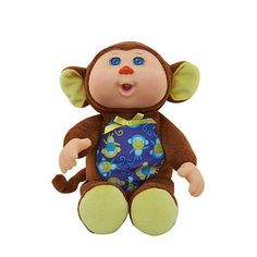 """Cabbage Patch Kids 9 inch Rain Forest Cuties Doll - Monkey - Wicked Cool Toys - Toys """"R"""" Us Ty Toys, Toys R Us, Monkey Doll, Cabbage Patch Kids Dolls, Kids Store, Porch Decorating, Cool Toys, Childhood Memories, Action Figures"""