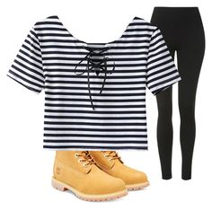 """""""Untitled #266"""" by shortblue13 on Polyvore featuring Topshop and Timberland"""