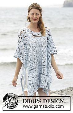 Ravelry: 168-29 Graceful Mermaid pattern by DROPS design