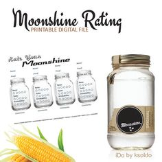 Moonshine Tasting Anyone? Instant Download