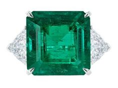 11.42ct Colombian Emerald