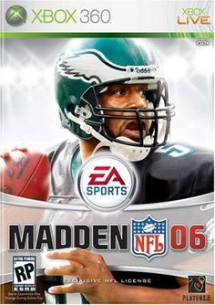 Madden NFL 2006  Xbox 360 * Read more  at the image link. Note:It is Affiliate Link to Amazon.