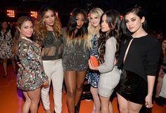 Fifth Harmony and Megan