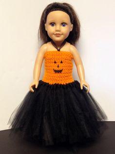 American Girl Halloween Dress  by GottaHaveItGiftShop on Etsy