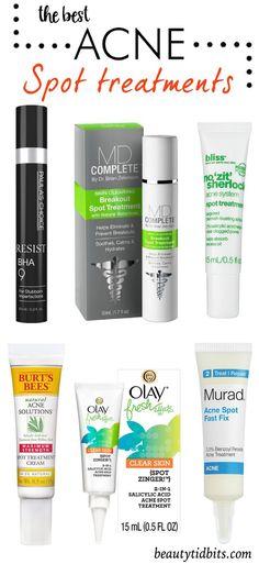 Best Acne Spot treatments
