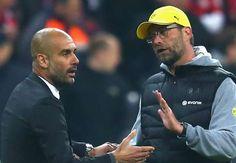 "Klopp to Guardiola: ""It's all football #football football."""