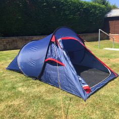 Eurohike POP 200 SD - Red Popup (pop up) tent - C&ing / Festivals   Popup and Tents & Eurohike POP 200 SD - Red Popup (pop up) tent - Camping ...