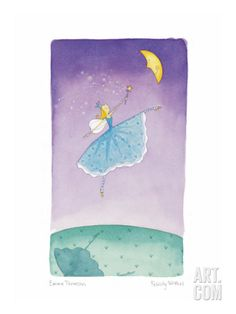 Felicity Wishes VII Giclee Print by Emma Thomson at Art.com