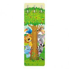 Kinderzimmer wandgestaltung feen  Kindergarderobe - No.BP27 Feen #Garten 139x46x2cm ...