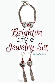 I love Brighton jewelry but I can't always afford it. This DIY version is perfect!