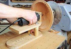 Image result for fluting jig for wood lathe