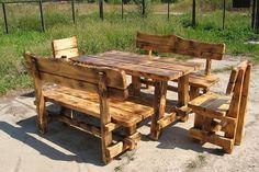 Делаем деревянные столы и лавки для дачи - http://mebelnews.com/mebel-dlya-dachi/delaem-derevyannye-stoly-i-lavki-dlya-dachi.html