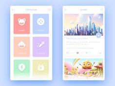 Interface Design by bill_uid #Design Popular #Dribbble #shots