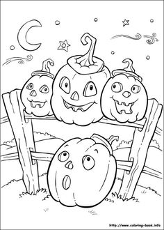 IColor Little Kids Halloween Coloring PagesPumpkin