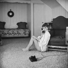 LOVING MY JET LAG...: Audrey by Mark Shaw