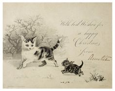 Victorian Christmas Card: c.1890  Raphael Tuck & Sons © Museum of London