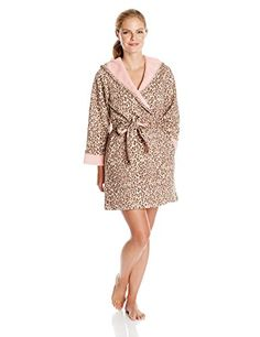 Casual Moments Women's Leopard Print Hooded Wrap Robe, Pink Animal, Small Casual Moments http://www.amazon.com/dp/B00HZHT40I/ref=cm_sw_r_pi_dp_7fcqub1DF1HN2
